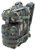 PLECAK PLECAK RUCKSACK ASSAULT BACKPACK WOODLAND MOLLE